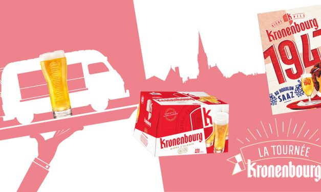 Kronenbourg: relookage, nouvelle recette, nouveau brassin et tournée estivale !