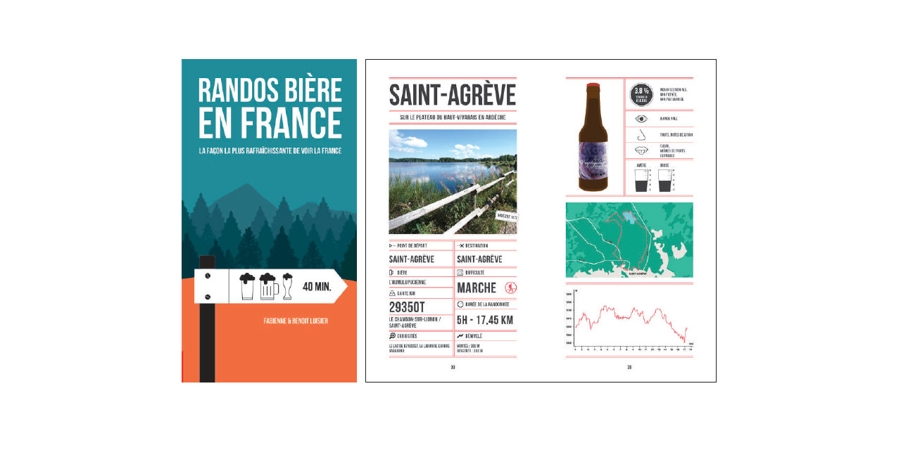 Exemple de randonnée dans le guide France