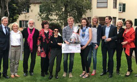 Les artistes récompensés de l'exposition Des bières et des Femmes à la Villa Meteor