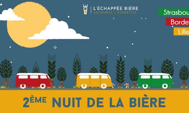La Nuit de la Bière revient à Lille et arrive à Strasbourg et Bordeaux !