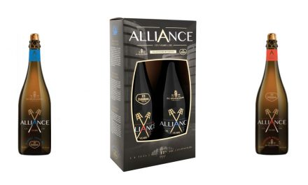 Un coffret de 2 bières Alliance pour Dubuisson et De Brabandere