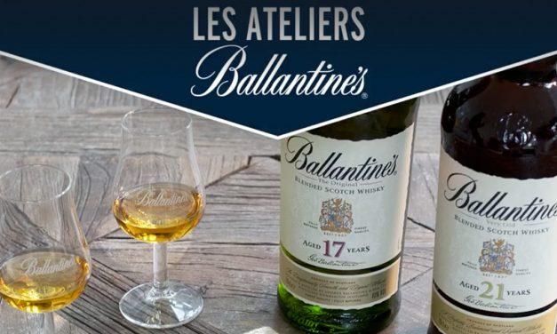 Ballantine's vous invite à des ateliers découverte