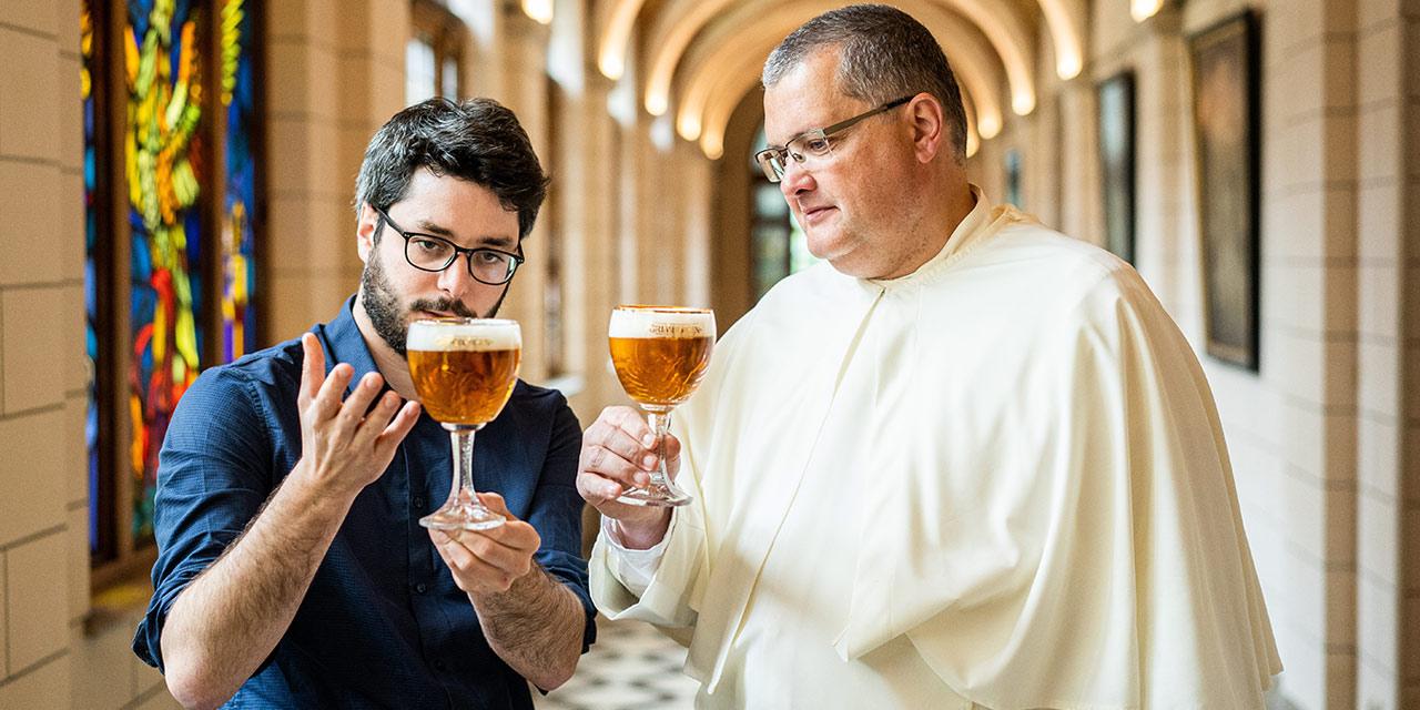 La bière revient à l'Abbaye de Grimbergen !