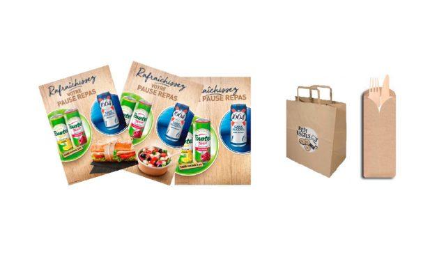 Kronenbourg, avec le sans-alcool, se place sur snacking