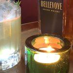 Cocktail au Bellevoye Noir par Karim Hamadouche