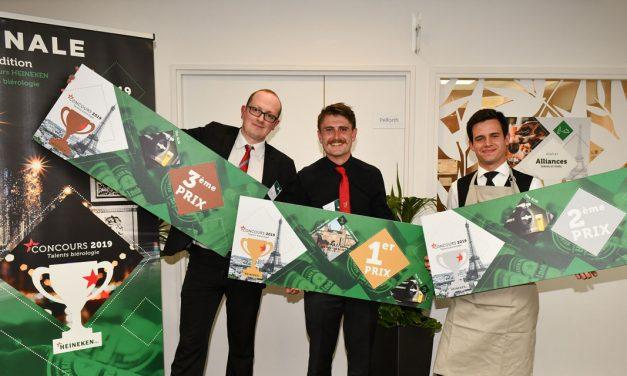 Maxwell Mason remporte le dernier Concours Heineken Talents Biérologie