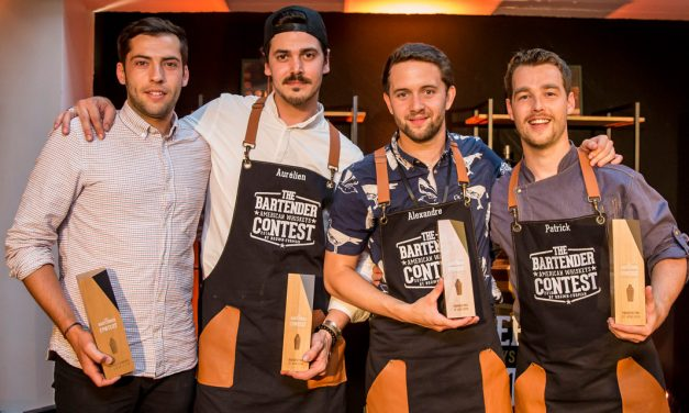 Alexandre Gaveaux remporte l'American Whiskeys Bartender Contest 2019 by Brown-Forman