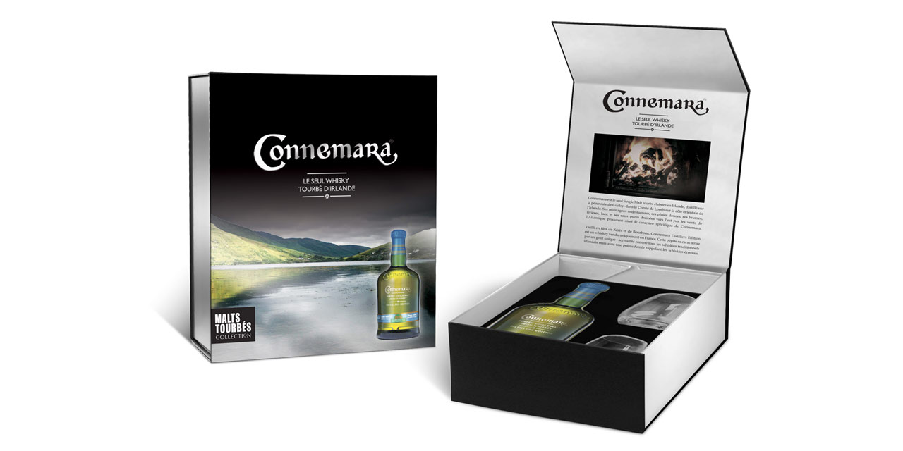 Nouveau coffret Connemara Distiller's Edition