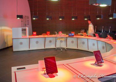 Le laboratoire d'analyses sensorielles