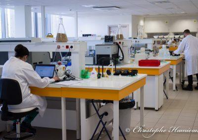 Laboratoire du centre de R&D