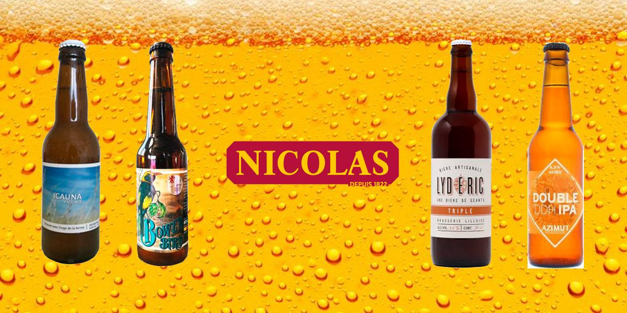 Le caviste Nicolas s'implique toujours plus dans la bière