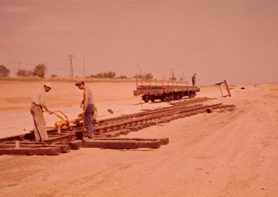 Tiroir voies ferrées septembre 1967