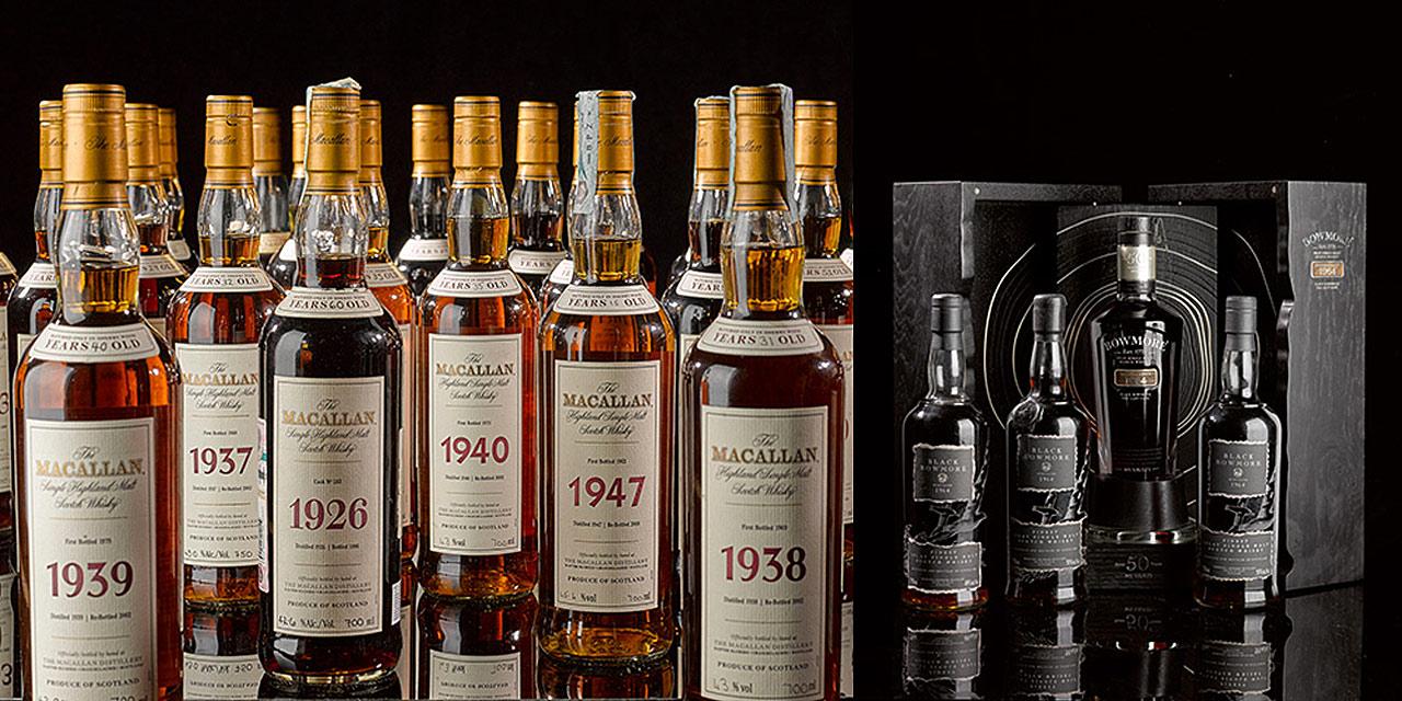 Exceptionnelle vente aux enchères de whisky chez Sotheby's