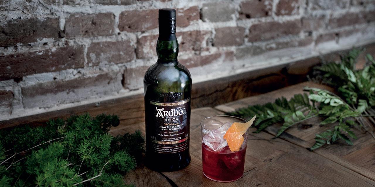 Cocktail Ardbeg Peaty Negroni