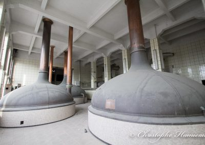 La salle de brassage