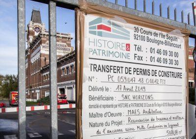Projet immobilier d'Histoire et patrimoine