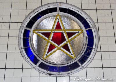 L'étoile du brasseur dans la salle de brassage