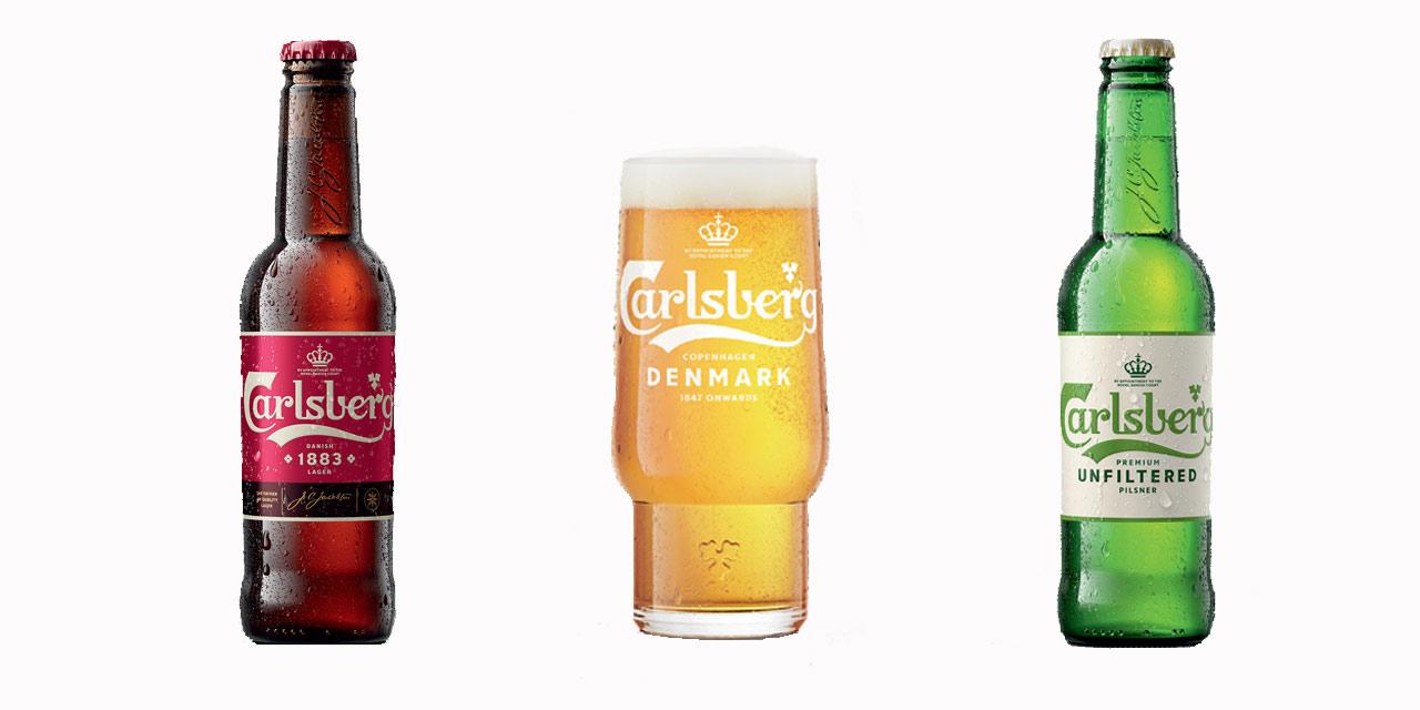 Carlsberg lance la 1883, l'Unfiltered et un nouveau verre