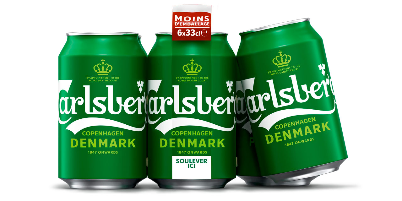 Carlsberg se relook et devient plus vert en France
