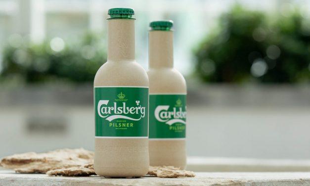 Carlsberg a créé la 1ère bouteille de bière en papier