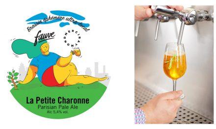 La Petite Charonne de Fauve, la bière au houblon frais parisien