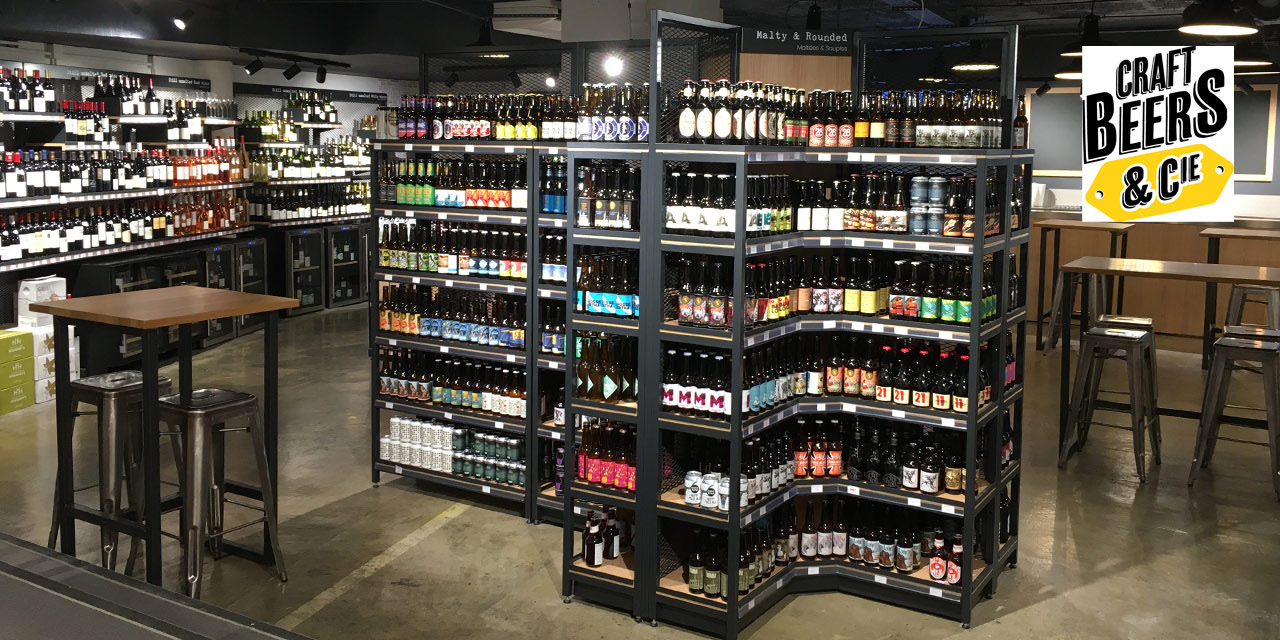 Craft Beers & Cie, le nouveau concept de Nicolas