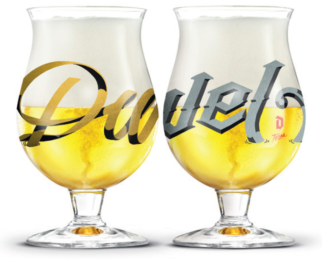 Mini verres collector Duvel & Tyrsa