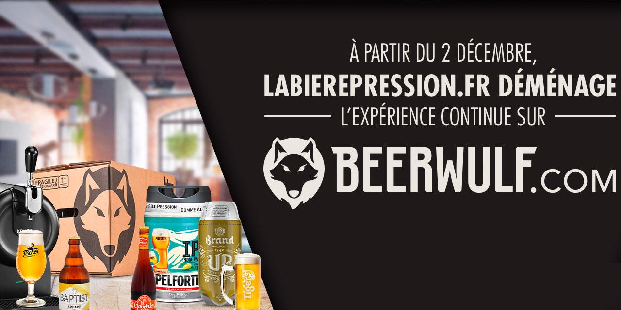 Beerwulf récupère La Bière Pression d'Heineken