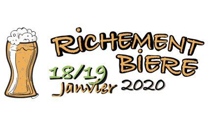 Richement Bière, pour bien commencer l'année 2020