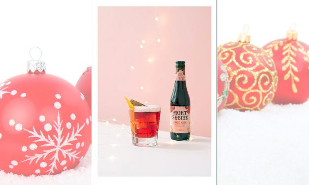 Kriek Fizz, un cocktail pour les fêtes de fin d'année