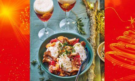 Osso-Bucco aux girolles et sa gremolata et bière de Noël
