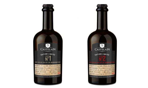 Castelain propose 2 brassins vieillis en fûts de vin