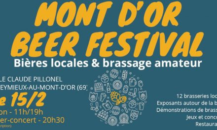 1er Mont d'Or Beer Festival près de Lyon