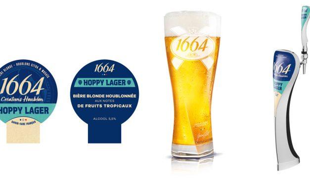 1664 Créations Houblon Hoppy Lager à la pression