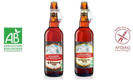 La Brasserie du Mont Blanc lance 2 bières d'abbaye Bio et sans gluten