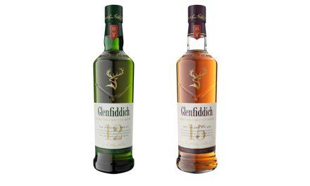 Glenfiddich relooke ses 12 et 15 ans d'âge