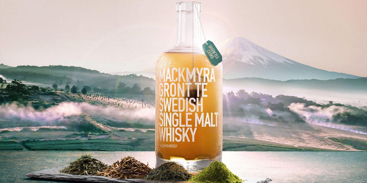 Mackmyra Grönt Te, le finish thés verts de la distillerie suédoise