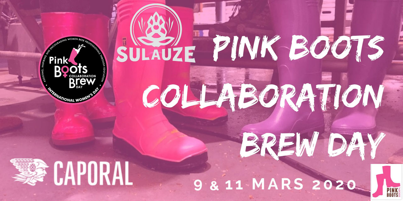 Pink Boots Collaboration Brew Day 2020