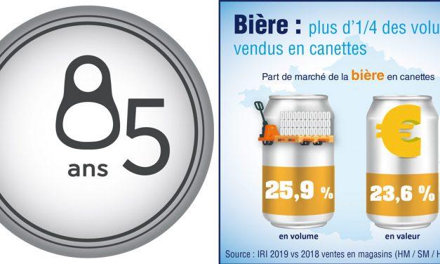 La bière se plait de plus en plus en boite
