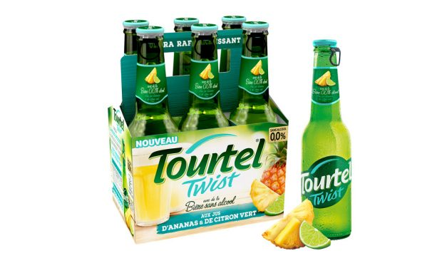 Nouvelle Tourtel Twist aux jus d'ananas et de citron vert