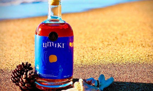 Umiki, un whisky coupé à l'eau de mer et finish fût de pin !