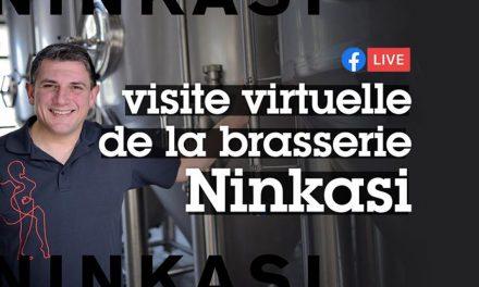 Visite virtuelle, mais live, de la brasserie Ninkasi de Tarare