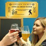Un Golden Ticket pour devenir Beer Tester de la brasserie Ice Breaker !