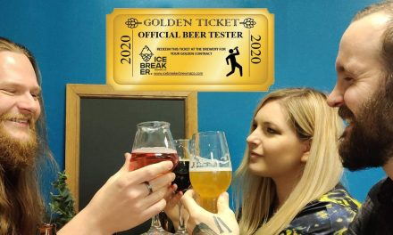 Un Golden Ticket pour devenir Beer Tester de la brasserie Ice Breaker !