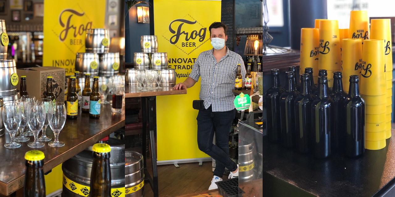 The Frog & Rosbif Paris lance la vente en vrac
