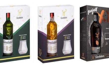 Glenfiddich, 3 coffrets cadeau pour la Fête des pères