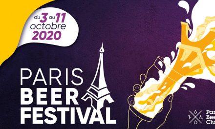 Le Paris Beer Festival 2020 annoncé du 3 au 11 octobre
