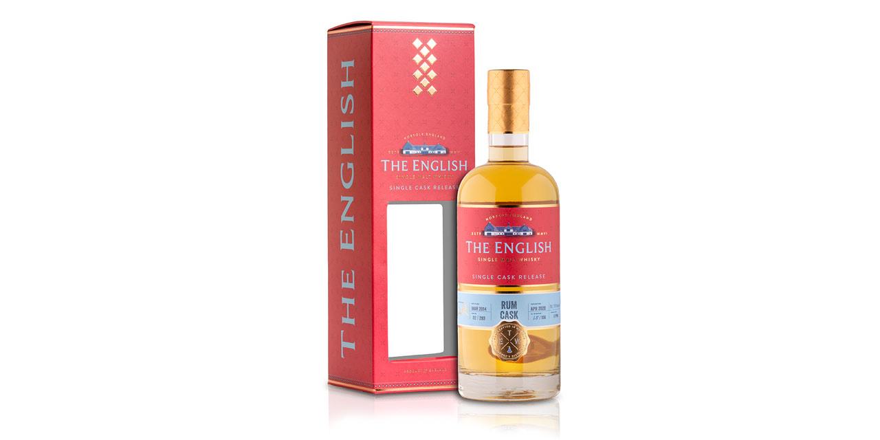 St. George's Distillery sort un Rum Cask Cask Strength