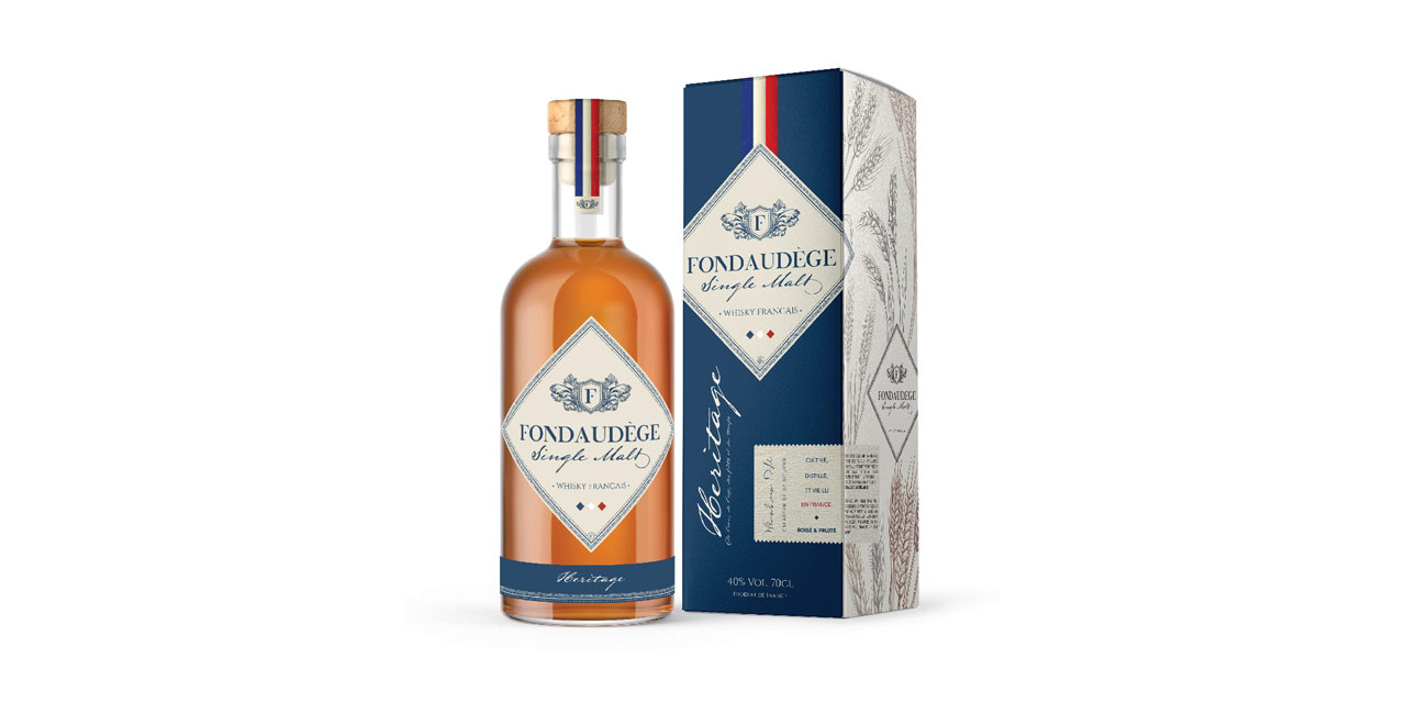 Whiskies du Monde lance sa 2e marque de whisky français, Fondaudège Héritage