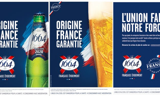 1664 solidaire dans sa nouvelle campagne Origine France